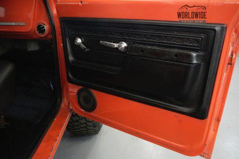1972 Chevrolet BLAZER RESTORED CUSTOM 4x4 CONVERTIBLE AC V8 WINCH  | Denver, CO | Worldwide Vintage Autos in Denver, CO