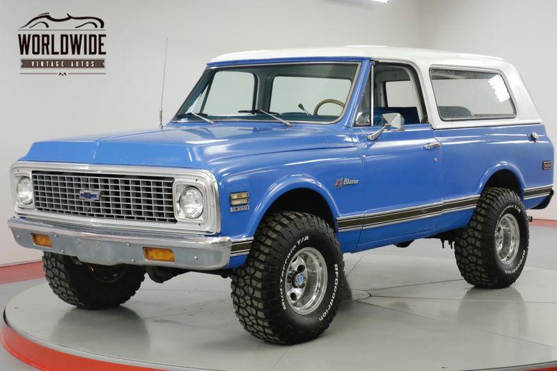 1972 Chevrolet BLAZER CST RESTORED FULL CONVERTIBLE AUTO 4x4 PS PB  | Denver, CO | Worldwide Vintage Autos
