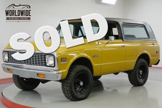 1972 Chevrolet BLAZER RESTORED CST 4x4 PS PB AUTO 89K ORGINAL  | Denver, CO | Worldwide Vintage Autos in Denver CO