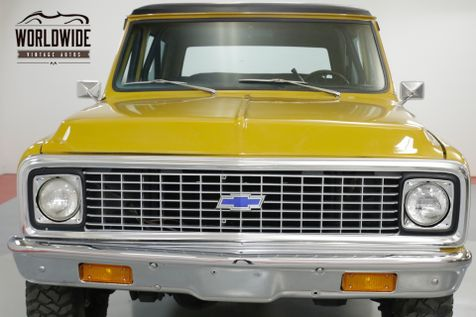 1972 Chevrolet BLAZER RESTORED CST 4x4 PS PB AUTO 89K ORGINAL  | Denver, CO | Worldwide Vintage Autos in Denver, CO
