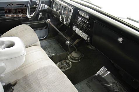 1972 Chevrolet BLAZER CA TRUCK 4x4 V8 AC PS PB LIFT CONVERTIBLE   Denver, CO   Worldwide Vintage Autos in Denver, CO