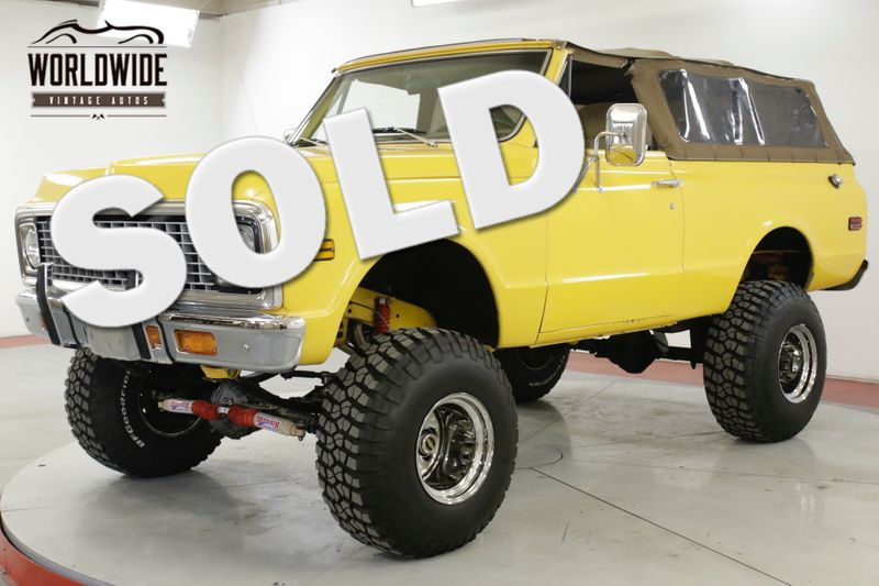 1972 Chevrolet BLAZER 4X4. RESTORED TRUE CST LS1 MOTOR AC PS PB | Denver, CO | Worldwide Vintage Autos