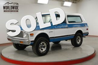 1972 Chevrolet BLAZER FRAME OFF RESTORED TWO TONE PS PB AUTO V8 | Denver, CO | Worldwide Vintage Autos in Denver CO