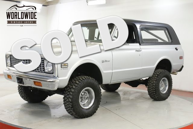 1972 Chevrolet BLAZER V8 PS PB LIFTED REMOVABLE HARDTOP VINTAGE AC  | Denver, CO | Worldwide Vintage Autos in Denver CO