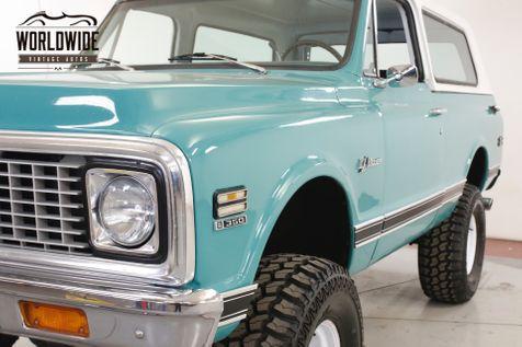 1972 Chevrolet BLAZER K5 V8 4X4 PS PB LIFTED REMOVABLE TOP  | Denver, CO | Worldwide Vintage Autos in Denver, CO