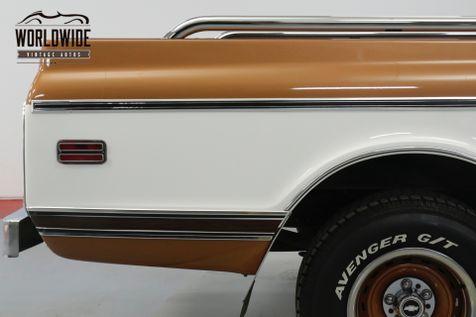 1972 Chevrolet C10  350V8 AUTO CST TRIM REBUILT MOTOR MUST SEE  | Denver, CO | Worldwide Vintage Autos in Denver, CO
