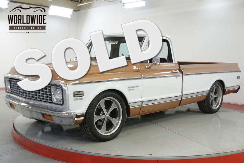 1972 Chevrolet C10   CUSTOM DELUXE CAB 350 V8 AUTO PS FRONT DISC | Denver, CO | Worldwide Vintage Autos