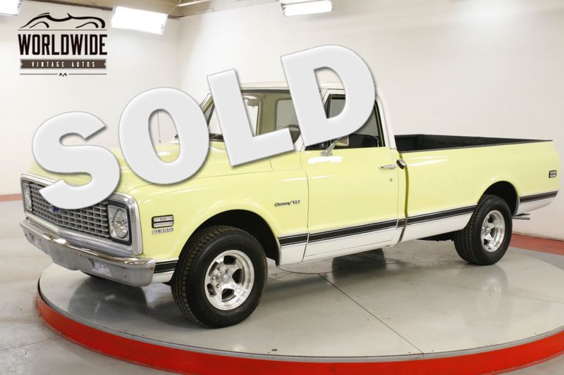 1972 Chevrolet C10 FUEL INJECTED 350V8 AUTO FLOWMASTER EXHAUST   Denver, CO   Worldwide Vintage Autos