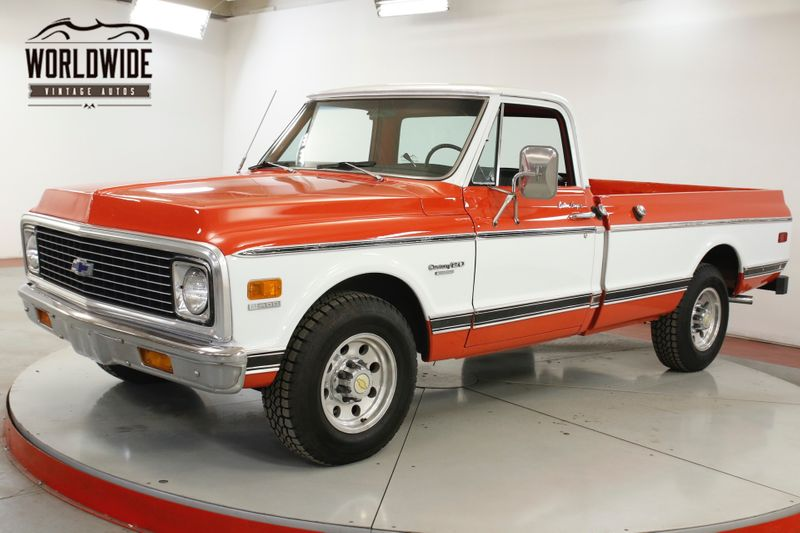 1972 Chevrolet C20 402 BIG BLOCK V8 PS | Denver, CO | Worldwide Vintage Autos