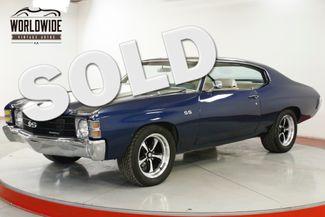 1972 Chevrolet CHEVELLE SS TRIBUTE VINTAGE AC FUEL INJECTION PS PB | Denver, CO | Worldwide Vintage Autos in Denver CO