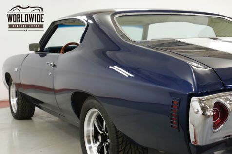 1972 Chevrolet CHEVELLE SS TRIBUTE VINTAGE AC FUEL INJECTION PS PB | Denver, CO | Worldwide Vintage Autos in Denver, CO