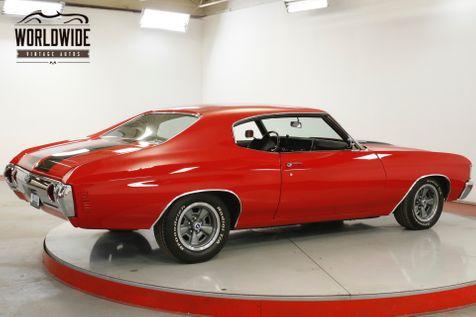 1972 Chevrolet CHEVELLE  BIG BLOCK 454 AUTO SS TRIBUTE PS PB DISC  | Denver, CO | Worldwide Vintage Autos in Denver, CO