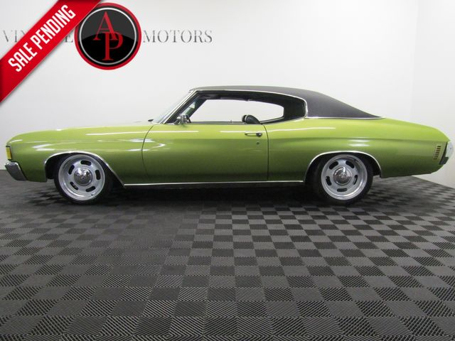 1972 Chevrolet CHEVELLE 383 PS PB 4 WHEEL DISC AC