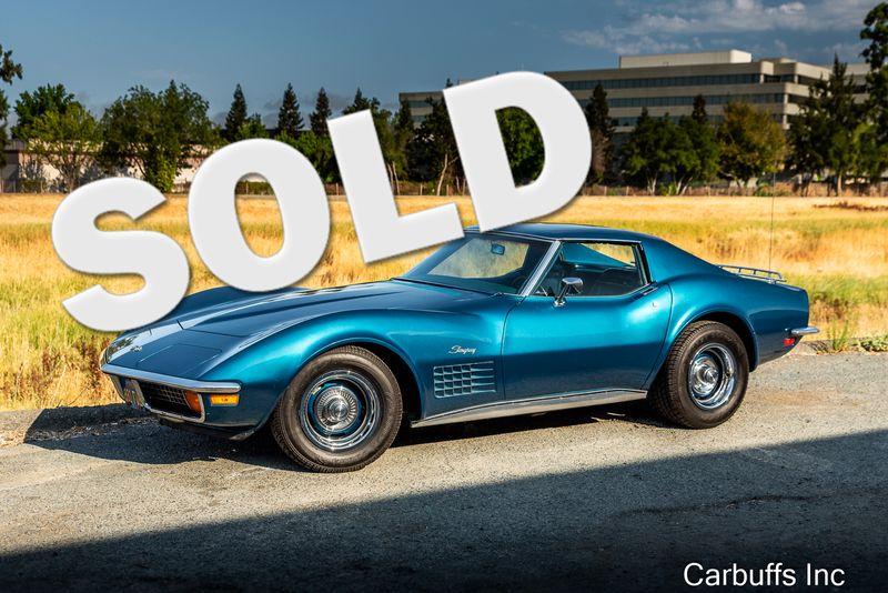 1972 Chevrolet Corvette    Concord, CA   Carbuffs