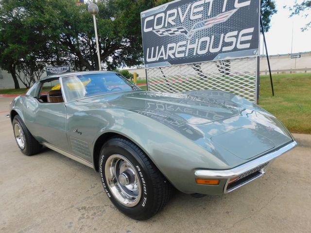 1972 Chevrolet Corvette Coupe 's Matching, 4-Spd, PS, PB, A/C, Delco, 62k in Dallas, Texas 75220