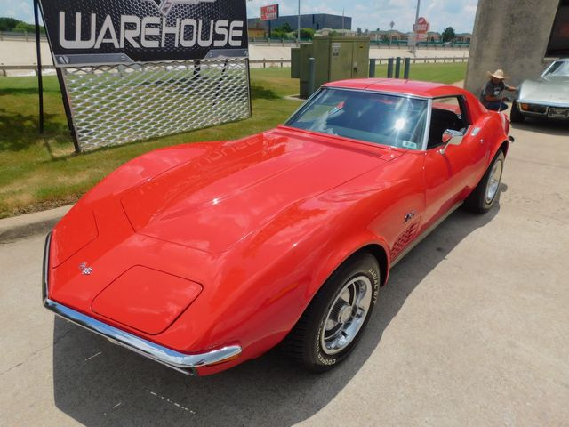 1972 Chevrolet Corvette Coupe 's Matching, 4-Spd, PS, PB, A/C, Deluxe 70k in Dallas, Texas 75220
