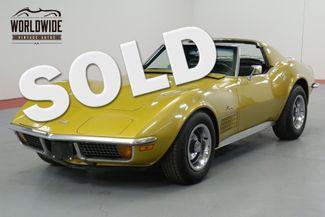 1972 Chevrolet CORVETTE STINGRAY. 410HP REBUILT MOTOR. PS. PB. 1500  | Denver, CO | Worldwide Vintage Autos in Denver CO