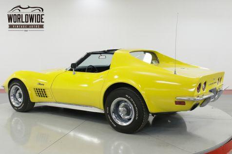 1972 Chevrolet CORVETTE STINGRAY - T-TOPS  | Denver, CO | Worldwide Vintage Autos in Denver, CO