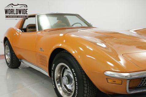 1972 Chevrolet CORVETTE REBUILT 350 PS PB TILT WHEEL DELUXE INTERIOR | Denver, CO | Worldwide Vintage Autos in Denver, CO