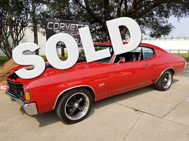 1972 Chevrolet Coupe Chevelle SS, #'s Match, 890hp, Over $90k Invested! | Dallas, Texas | Corvette Warehouse  in Dallas Texas
