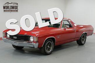 1972 Chevrolet EL CAMINO SS  RESTORED. TRUE SS. RARE 4 SPEED! AC!  | Denver, CO | Worldwide Vintage Autos in Denver CO