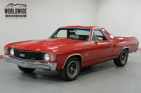 1972 Chevrolet EL CAMINO SS  RESTORED. TRUE SS. RARE 4 SPEED! AC!  | Denver, CO | Worldwide Vintage Autos in Denver, CO