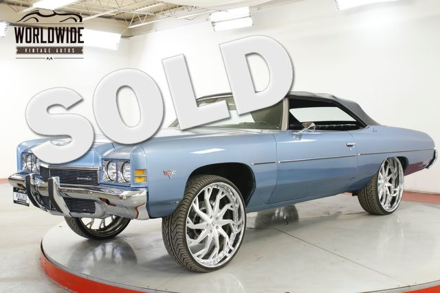 1972 Chevrolet IMPALA CONVERTIBLE DONK 26 INCH WHEELS 383  | Denver, CO | Worldwide Vintage Autos in Denver CO