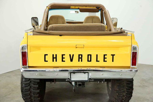 1972 Chevrolet K5 Blazer  Custom Houston, Texas 8