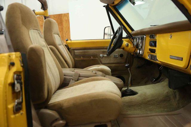 1972 Chevrolet K5 Blazer  Custom Houston, Texas 29