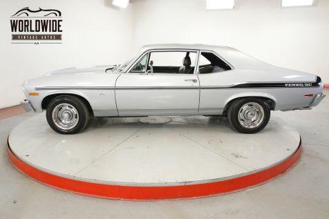 1972 Chevrolet NOVA SS/YENKO CLONE 350 AUTO RALLYE WHEELS PS PB  | Denver, CO | Worldwide Vintage Autos in Denver, CO