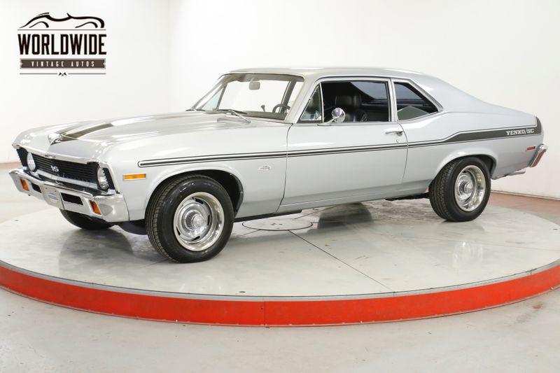 1972 Chevrolet NOVA SS/YENKO CLONE 350 AUTO RALLYE WHEELS PS PB  | Denver, CO | Worldwide Vintage Autos