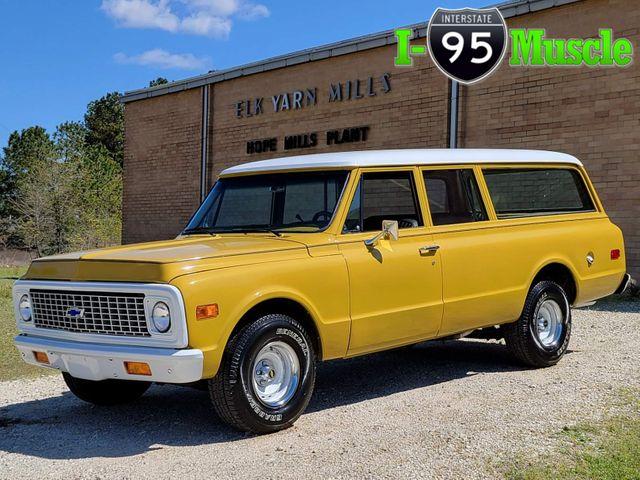 1972 Chevrolet Suburban 3 Door