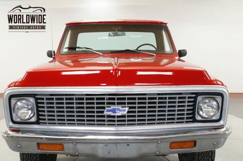 1972 Chevrolet TRUCK K10 350 V8 4-SPEED MANUAL 4X4 PB | Denver, CO | Worldwide Vintage Autos in Denver, CO