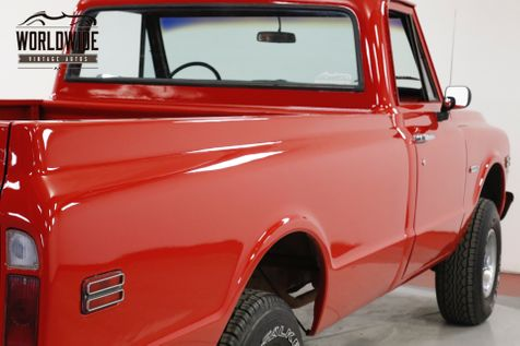 1972 Chevrolet TRUCK K10 350 V8 4-SPEED MANUAL 4X4 PB | Denver, CO | Worldwide Vintage Autos in Denver, CO