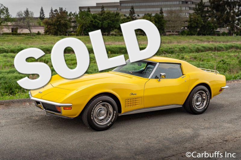 1972 Chevy Corvette Coupe   Concord, CA   Carbuffs