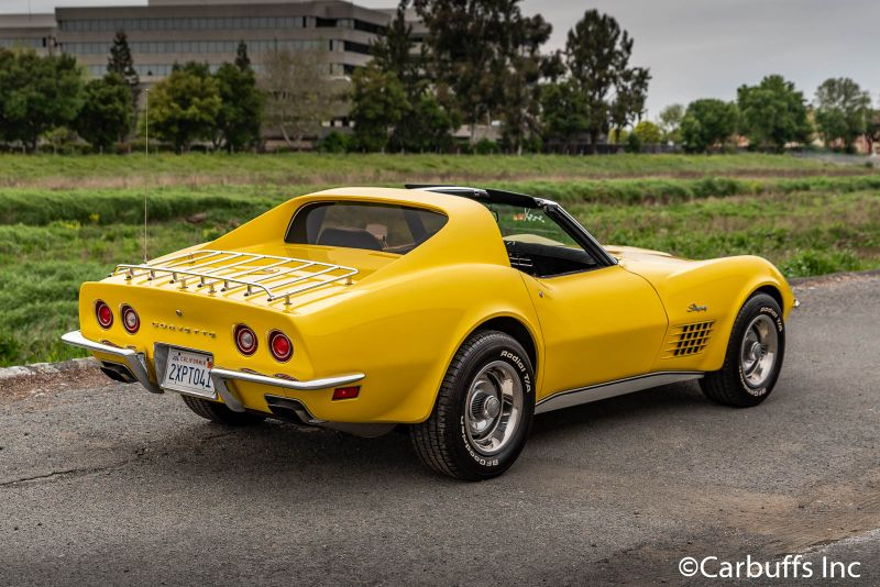 1972 Chevy Corvette Coupe   Concord, CA   Carbuffs in Concord, CA