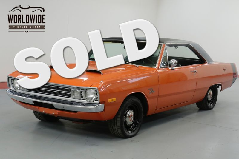 1972 Dodge DART SWINGER RESTORED. 360 MAGNUM  BUILD SHEET. 4 BRL. MUST SEE | Denver, CO | Worldwide Vintage Autos