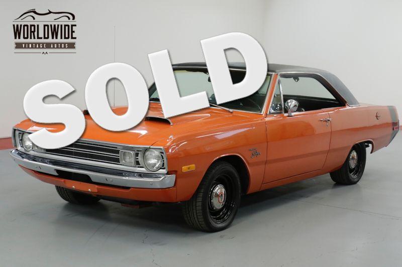 1972 Dodge DART SWINGER RESTORED. 360 MAGNUM  BUILD SHEET. 4 BRL. MUST SEE | Denver, CO | Worldwide Vintage Autos