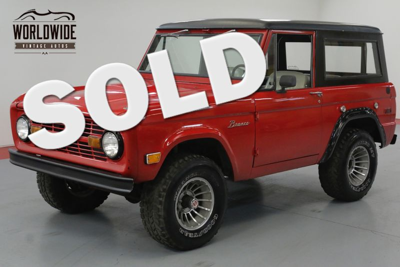 1972 Ford BRONCO RESTORED. 5.0 V8 EFI. 4X4. UPGRADES! | Denver, CO | Worldwide Vintage Autos
