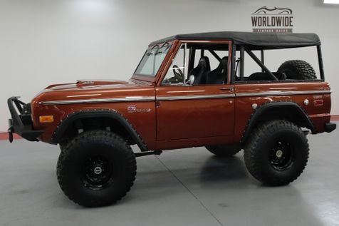 1972 Ford BRONCO HIGH $ BUILD. FRAME OFF RESTORED. AC. PS. PB  | Denver, CO | Worldwide Vintage Autos in Denver, CO