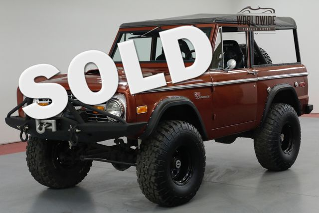 1972 Ford BRONCO HIGH $ BUILD. FRAME OFF RESTORED. AC. PS. PB  | Denver, CO | Worldwide Vintage Autos in Denver CO