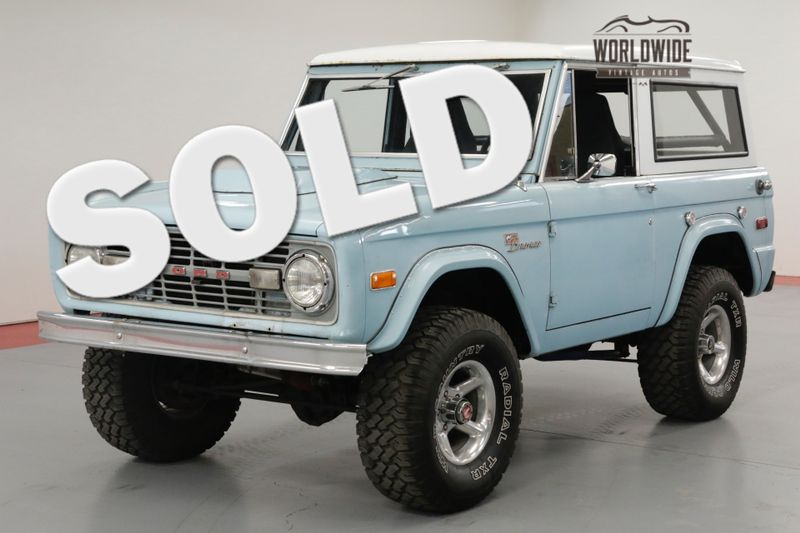 1972 Ford BRONCO 4x4 302 V8 4 SPEED HARD TOP. LIFT. 20K MILES   Denver, CO   Worldwide Vintage Autos