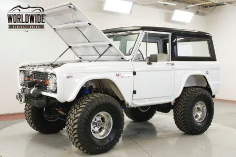 1972 Ford BRONCO FRAME OFF RESTORATION 351 WINDSOR V8 DISC PS  | Denver, CO | Worldwide Vintage Autos in Denver, CO
