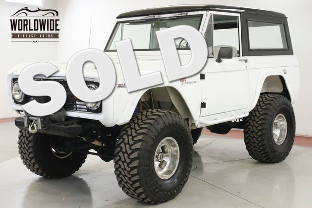 1972 Ford BRONCO FRAME OFF RESTORATION 351 WINDSOR V8 DISC PS  | Denver, CO | Worldwide Vintage Autos in Denver CO