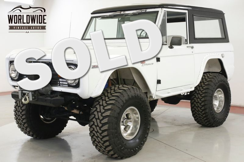 1972 Ford BRONCO FRAME OFF RESTORATION 351 WINDSOR V8 DISC PS  | Denver, CO | Worldwide Vintage Autos