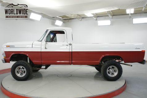 1972 Ford F100 360 V8 4-SPEED 4X4 PS  | Denver, CO | Worldwide Vintage Autos in Denver, CO