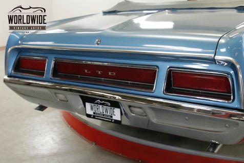 1971 Ford LTD CONVERTIBLE! RARE TIME CAPSULE 351 V8! AC!  | Denver, CO | Worldwide Vintage Autos in Denver, CO