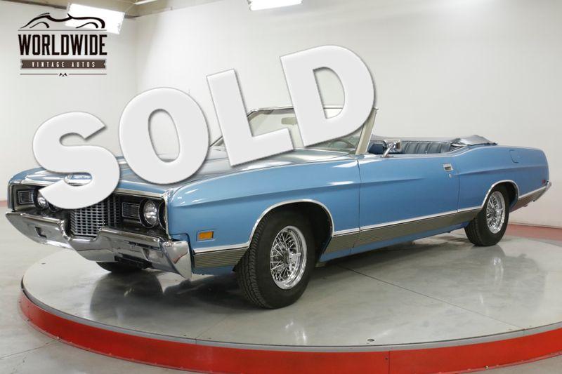 1971 Ford LTD CONVERTIBLE! RARE TIME CAPSULE 351 V8! AC!  | Denver, CO | Worldwide Vintage Autos
