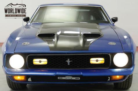 1972 Ford MUSTANG MACH I V8 CODE C6 | Denver, CO | Worldwide Vintage Autos in Denver, CO