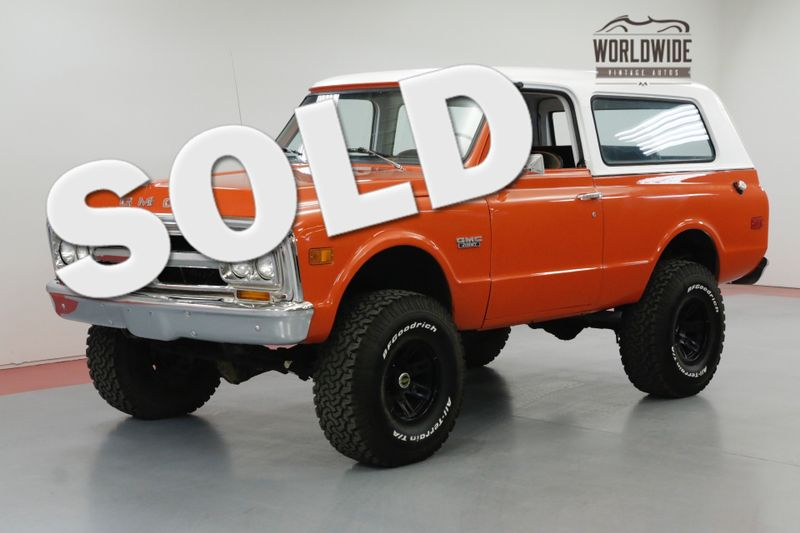 1972 GMC JIMMY RARE FULL CONVERTIBLE HUGGER ORANGE CHROME | Denver, CO | Worldwide Vintage Autos